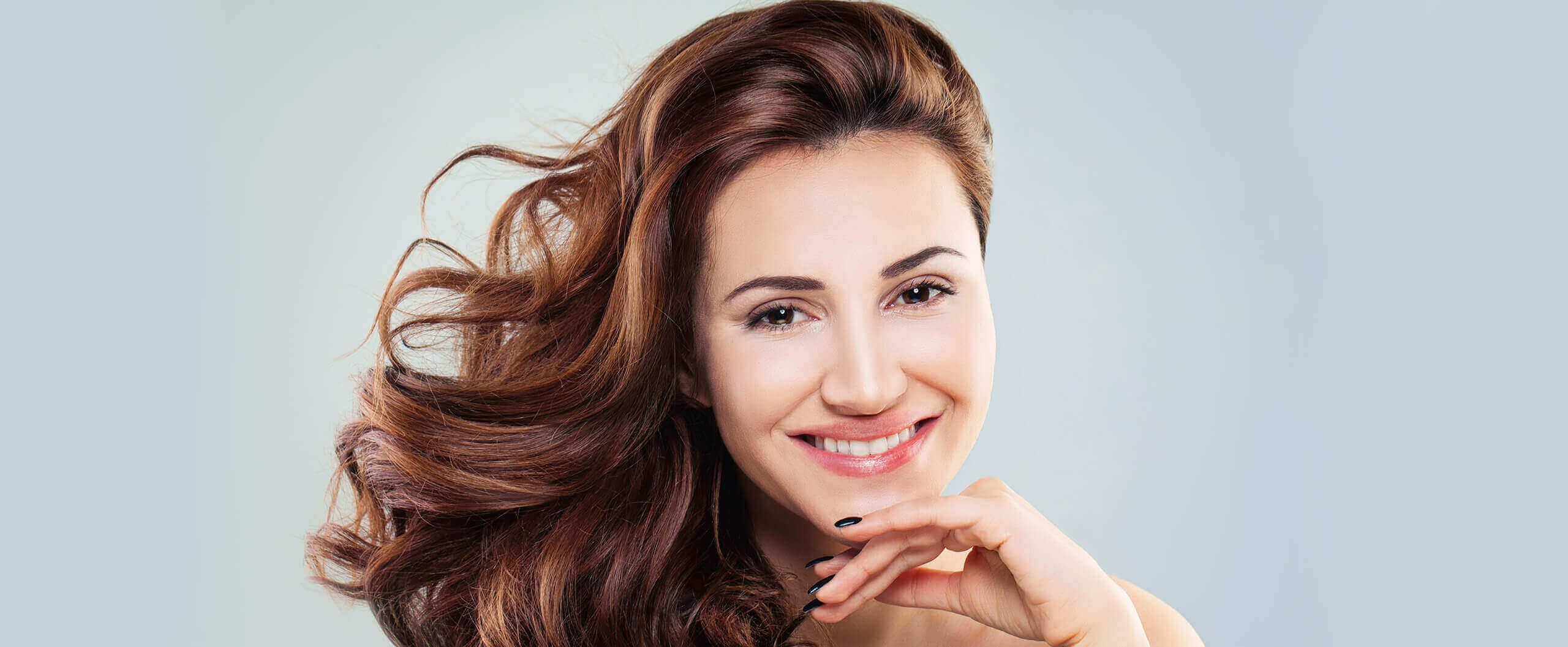 woman with beautiful white smile