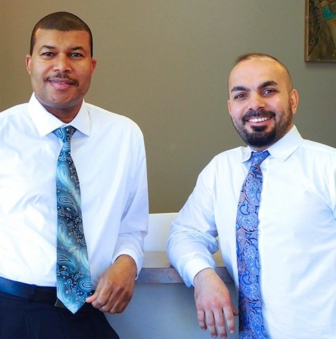Dr. Ali and Dr. Mualla